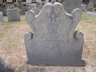 Ornate grave stone | by michelelisa