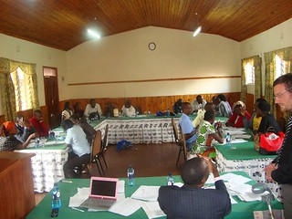 Training in Kisumu | by Action Network for the Disabled