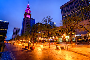 16th Street Mall in Denver with the D&F Clock Tower | by Geoff Livingston