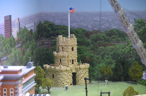Legoland Somerville (Boston), preview weekend: Somerville's Prospect Hill Tower monument | by Chris Devers
