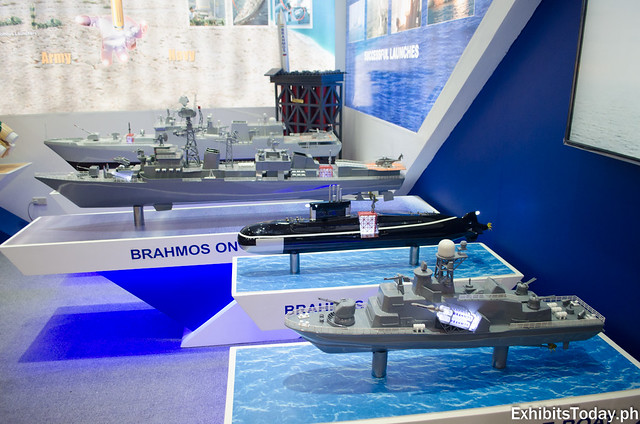 Brahmos Ship Displays