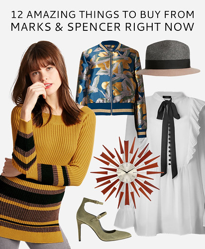 12 Amazing Things to Buy From Marks & Spencer Right Now - AW16 (Plus 20% Off Code)