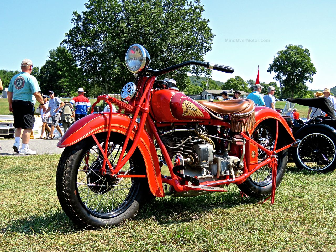 1936 Indian 1265cc Lime Rock 5