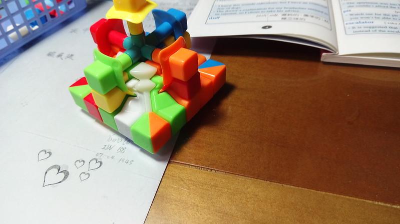 五階魔方組裝教學7