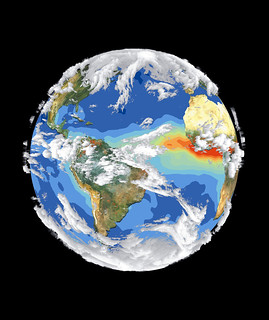 Satellite Image of Earth's Interrelated Systems and Climate | by NASA on The Commons