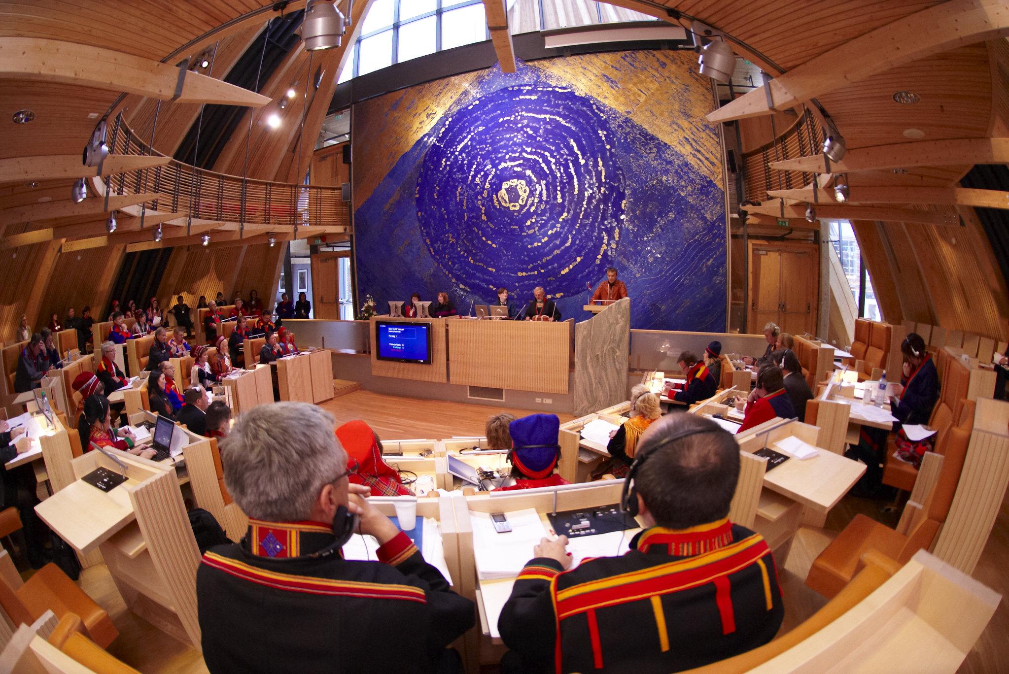 Sametingets plenumssal