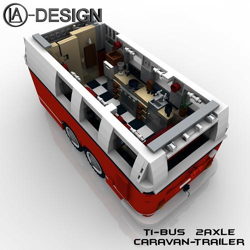 lego custom t1 10220 bus wohnwagen camper trailer 7 flickr. Black Bedroom Furniture Sets. Home Design Ideas