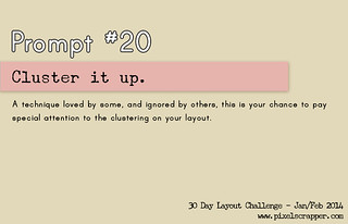 30 Days Prompt #20: Cluster it up | by Pixel Scrapper