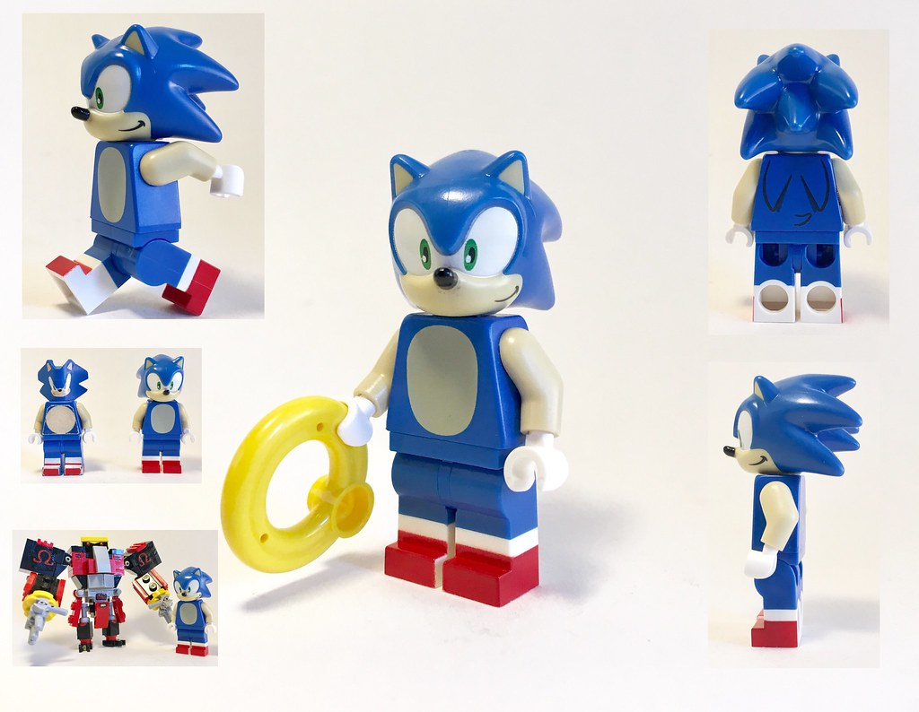 lego dimensions sonic the hedgehog minifigure showcase flickr