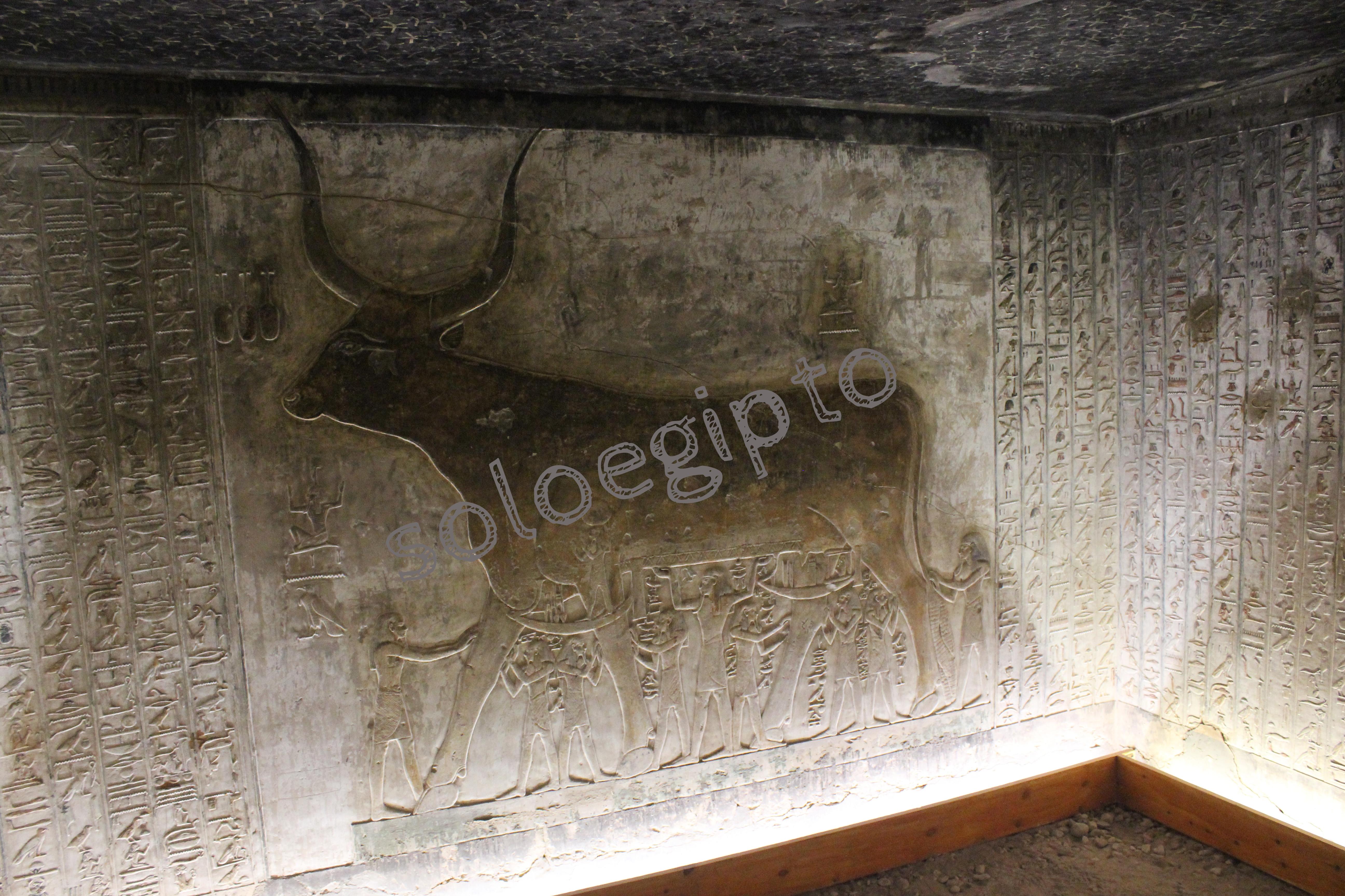 """Tumba de Seti I , Tomb of Seti I , Sethi I -Sala de la """"Vaca Celestial""""- Luxor Egipto , Egypt. 27-05-2016 ."""
