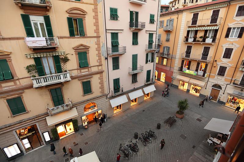 Hotel Genova view