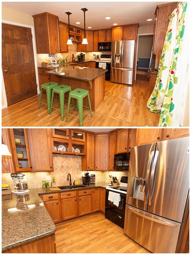 If you walk down the hall, the kitchen is in the back of the house on the left. | by Fluttering By