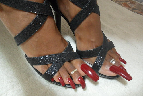 My New Shoes My Toenails Are Even Longer Now Liza Flickr