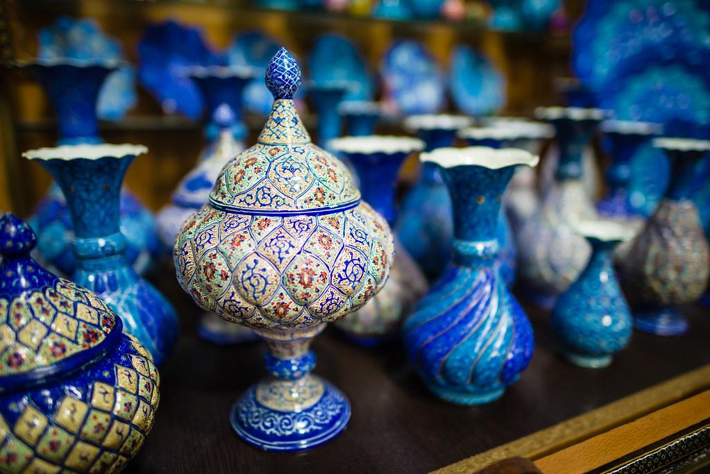 Iranian Handicrafts Dave Wong Flickr