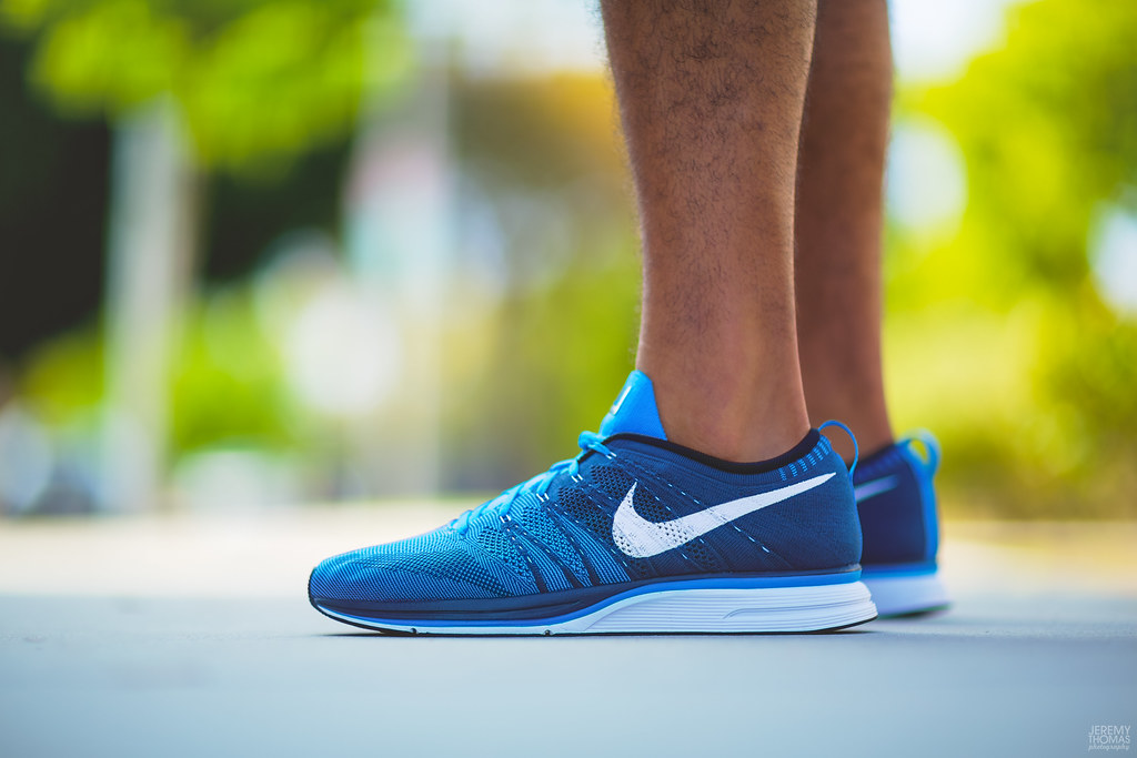 ad2813e68a14 ... coupon nike flyknit trainer squadron blue by jeremy thomas photography  3f41b e7295