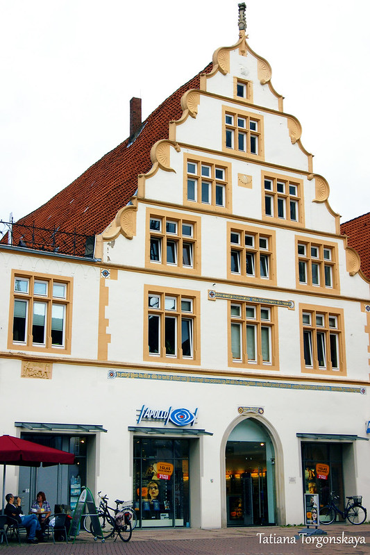 Фасад дома 1556 года