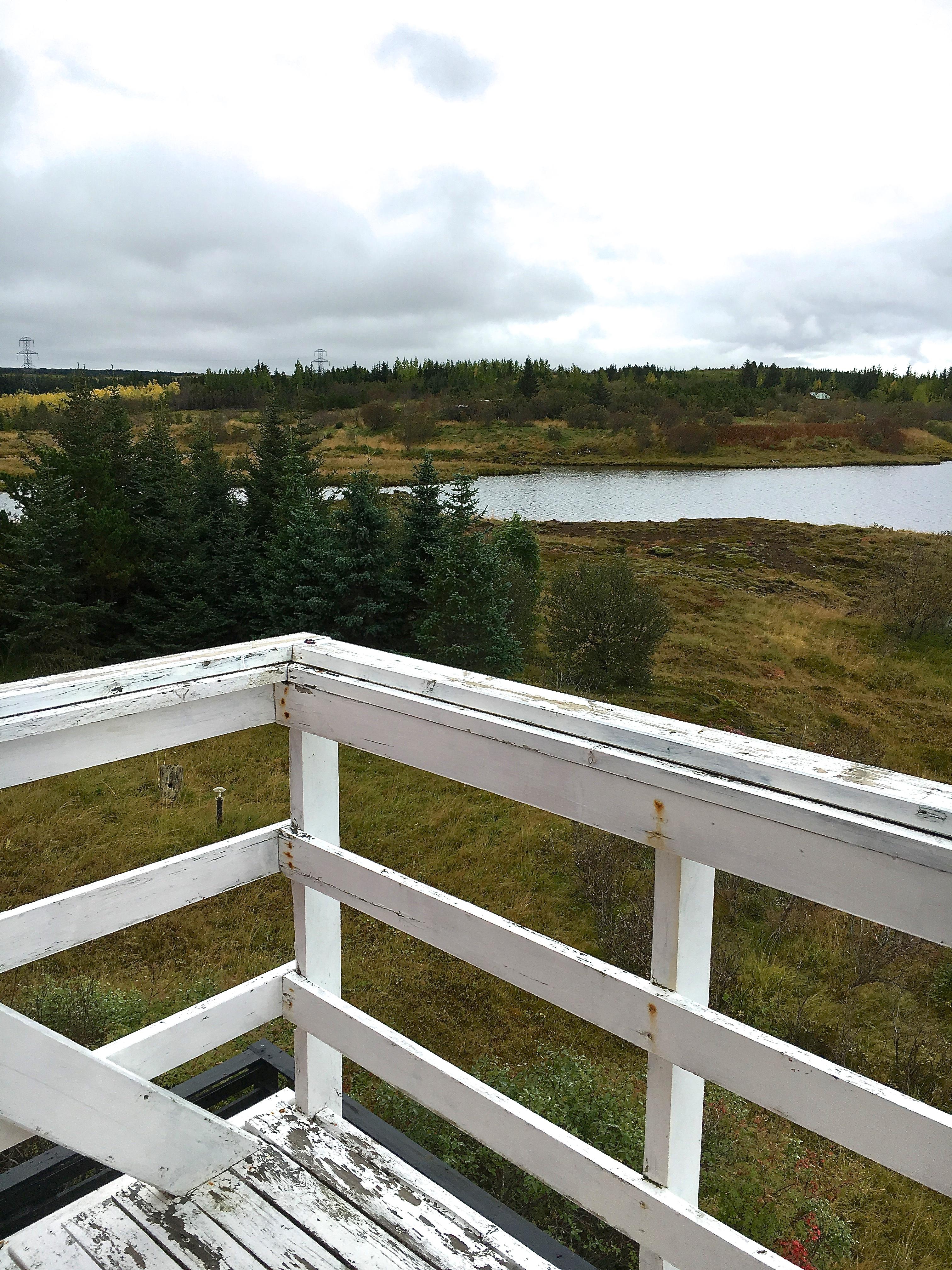 iceland balcony
