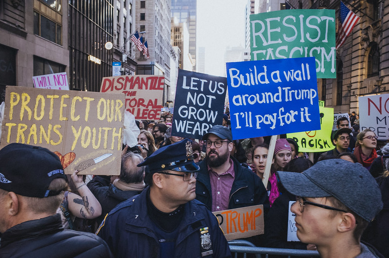 March against Trump, New York City