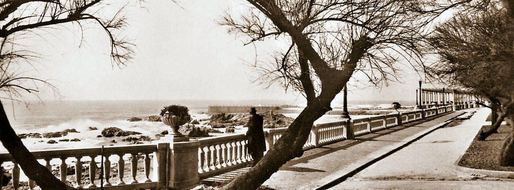 Vista do Molhe em Nevogilde, c.1950
