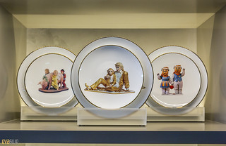 Gift Shop Plates Jeff Koons The Broad Museum Los Angeles 09 | by Eva Blue