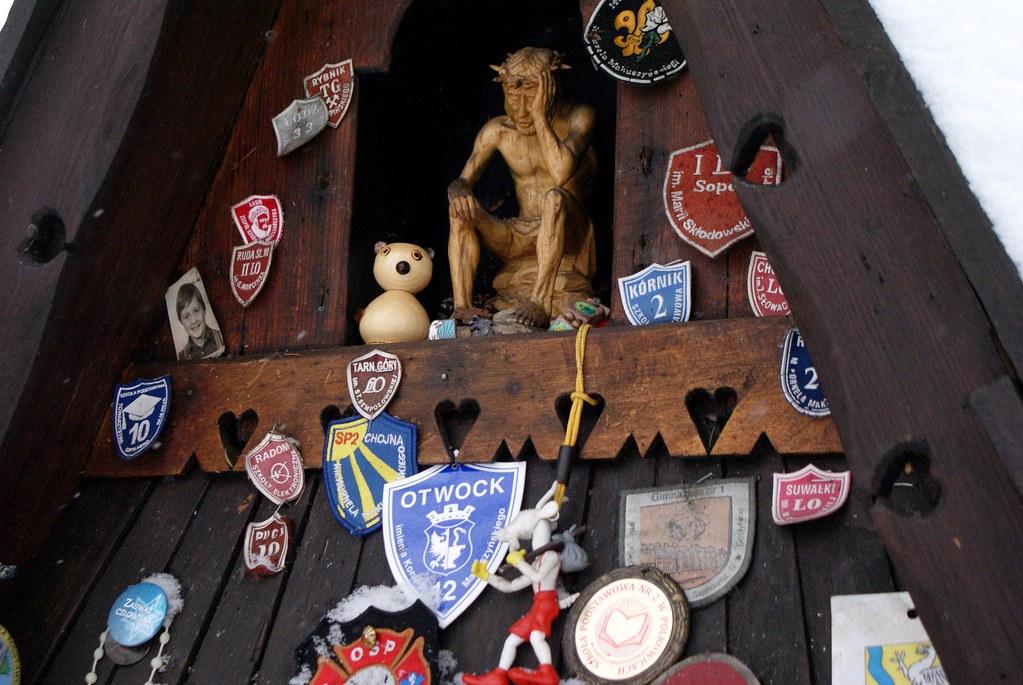 Tombe de l'écrivain Makuszynski, père du personnage de la chèvre Matolek reprise dans la 1ere BD polonaise.