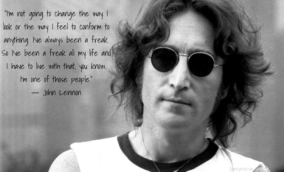 John Lennon Quotes Freak