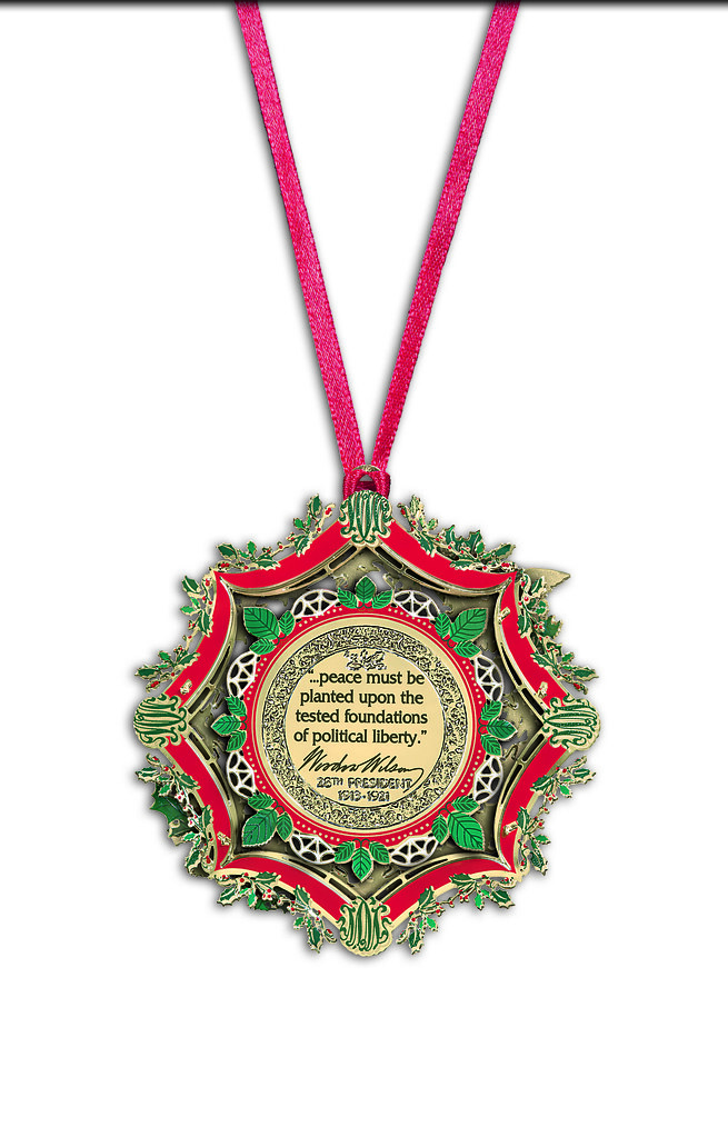 ... 2013 White House Christmas Ornament | by The White House Historical  Association - 2013 White House Christmas Ornament The Words Inscribed On… Flickr