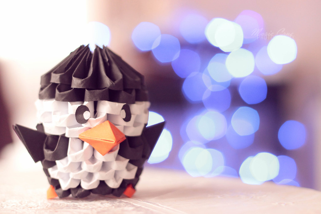 Penguin 3d Origami Its Origami Time Again But This Year Flickr