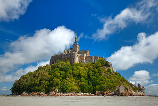 Mont Saint-Michel Castle - HDR | by freestock.ca ♡ dare to share beauty