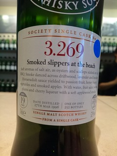 SMWS 3.269 - Smoked slippers at the beach