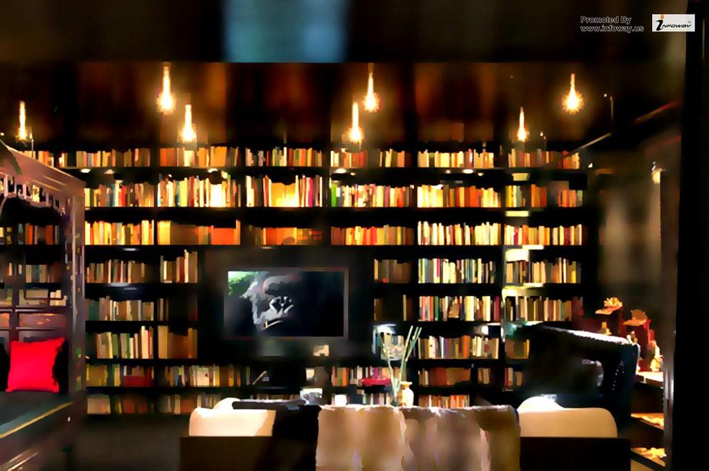 Astonishing Interior Beautiful Walls Home Library Design In Classic Li Flickr Inspirational Interior Design Netriciaus