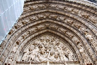 Western Facade of Rouen Cathedral