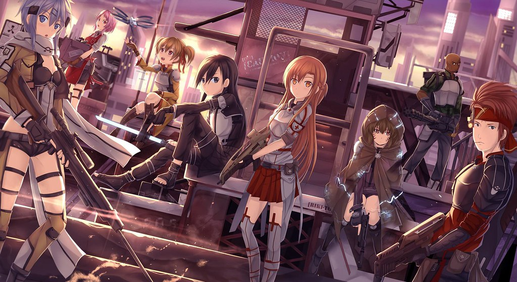 SaltineCracker00 Some Of The SAO Characters I Will Make In There GGO Looks