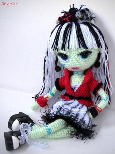Amigurumi Monster Zeitschrift : Frankie Stein Amigurumi ladynoir63 Flickr