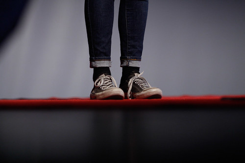 Practice 'kicks' and red carpet | by TEDxQueenstown