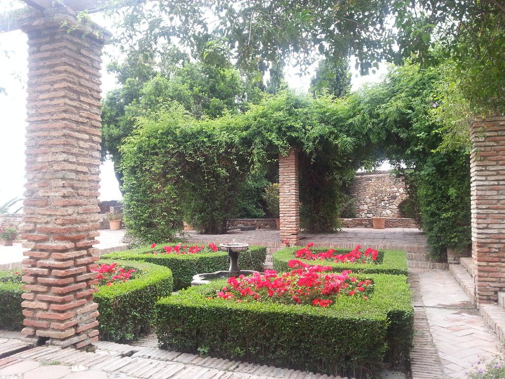 Malaga Alcazaba Arabe Jardin Javier Valero Iglesias Flickr - Jardin-arabe