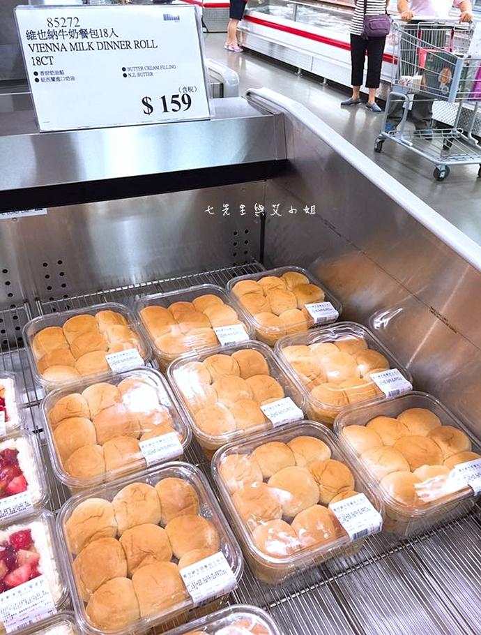 5 Costco 好市多必買物 購物清單 維也納牛奶餐包