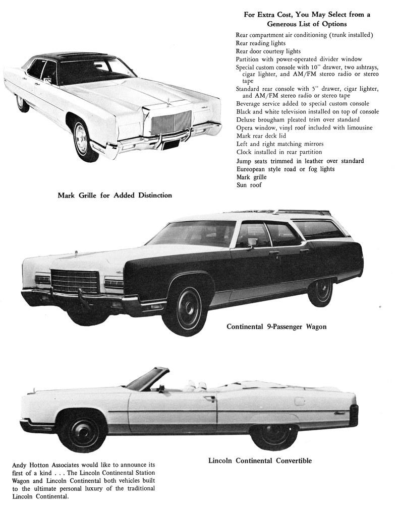 1973 Lincoln Continental Wagon Convertible
