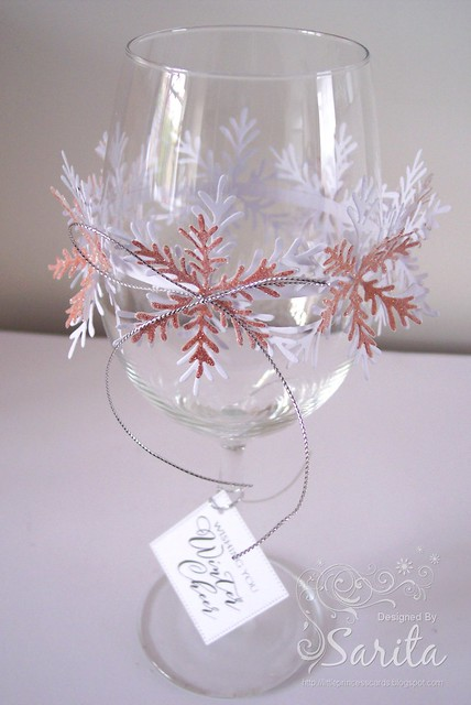 Snowflake Glass Garland 2a