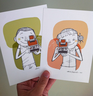 Etsy Update: SX-70 Camera Kids | by wardomatic