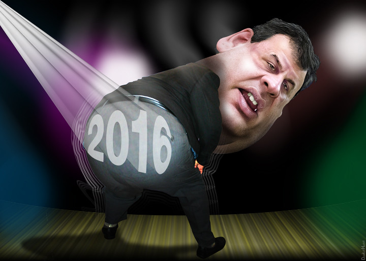 "chris christie, ""do these pants make my butt look big?"" 