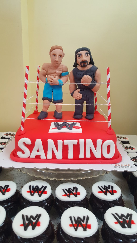 Wwf Cake With John Cena And Roman Reigns Liza Flickr