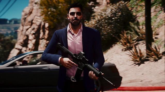 GTA 5 - Ben Affleck