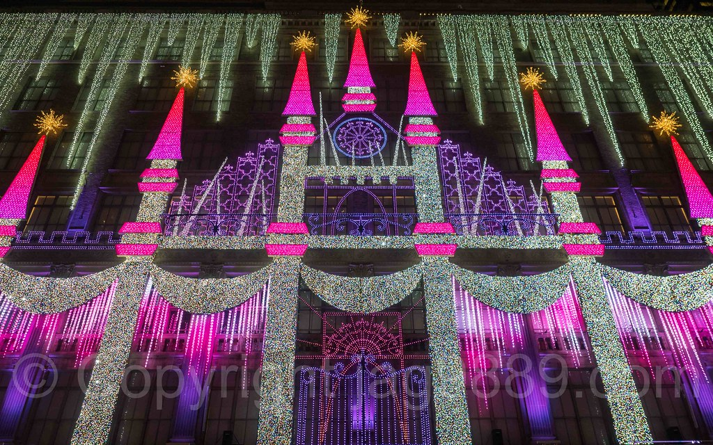 Superior ... Saks Fifth Avenue Holiday Light Show, New York City   By Jag9889 Nice Design