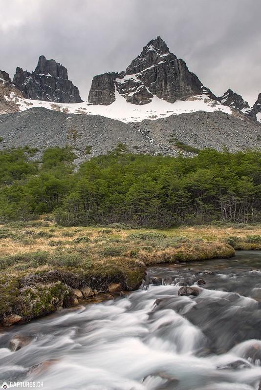 View from the Campamento nueva zelanda - - Parque Nacional Cerro Castillo
