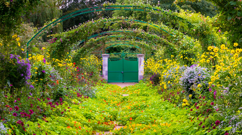 Garden Door Monets garden Giverny France jpitha Flickr