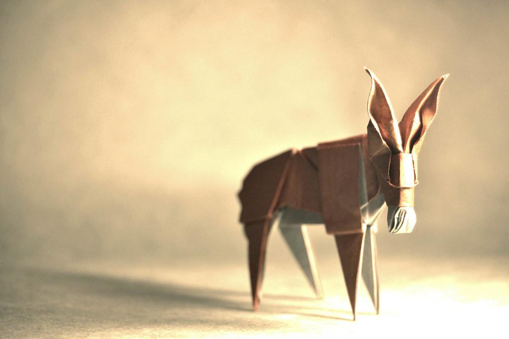 Origami Donkey My Blog