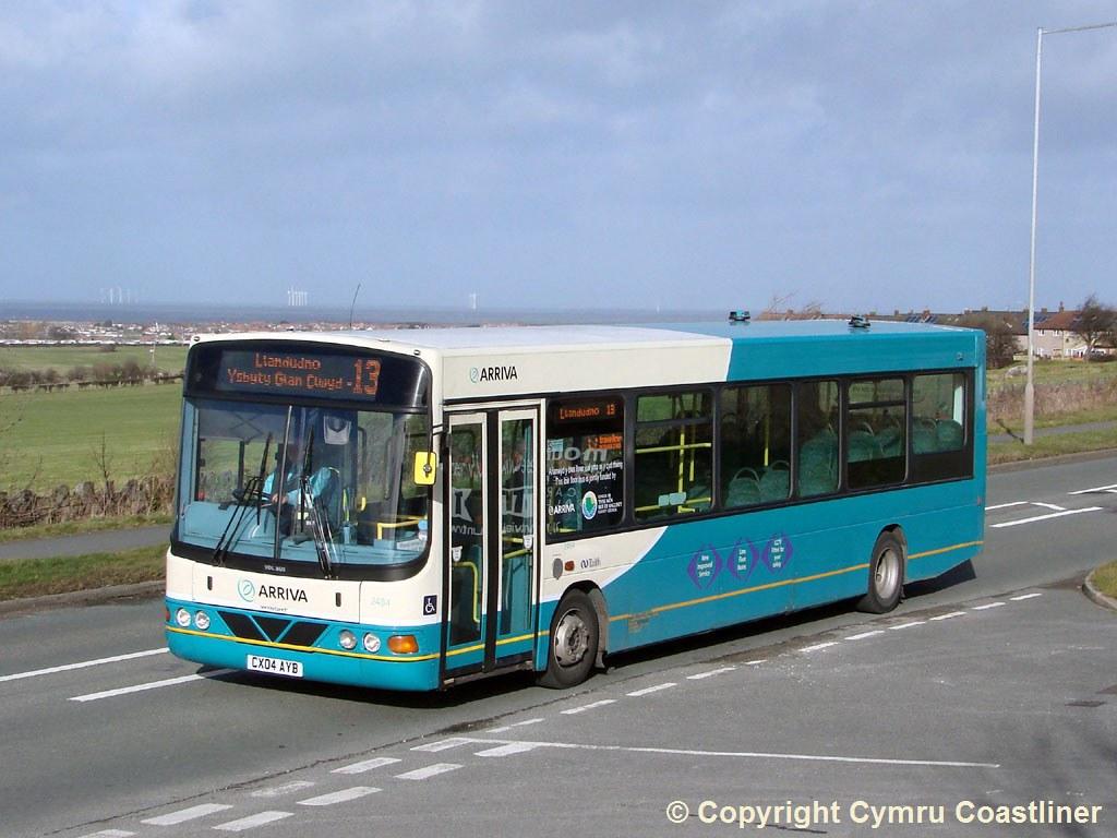 ... ARRIVA Buses Wales 2484 - CX04 AYB | by Cymru Coastliner