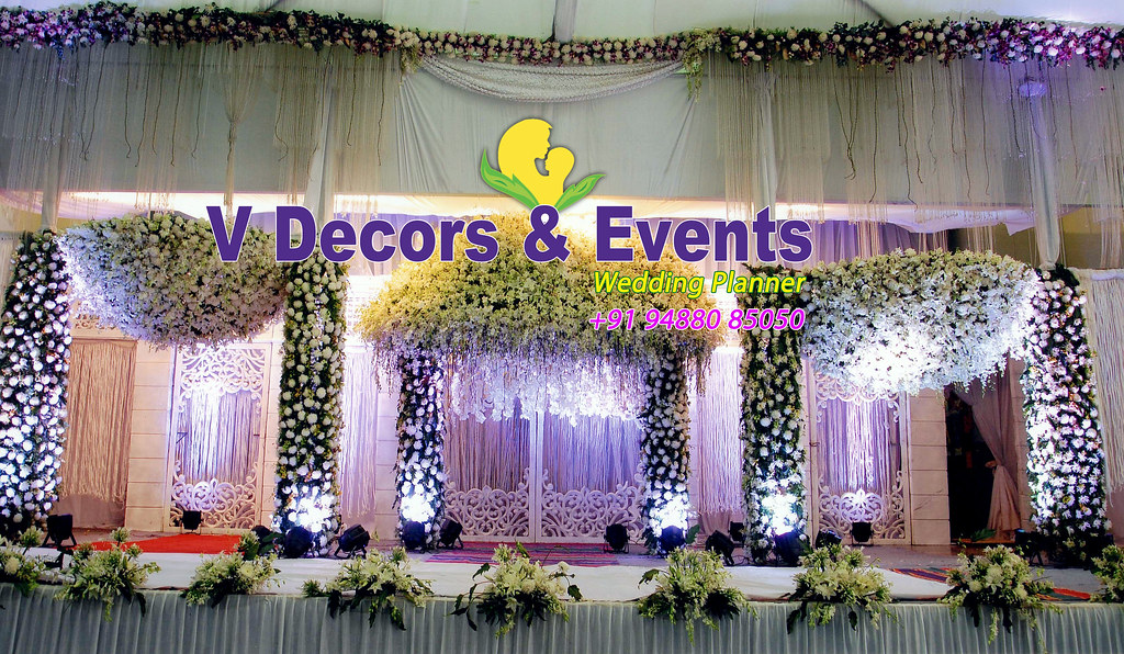 Marriage Decorations Wedding Decorations Stage Decorations Flickr