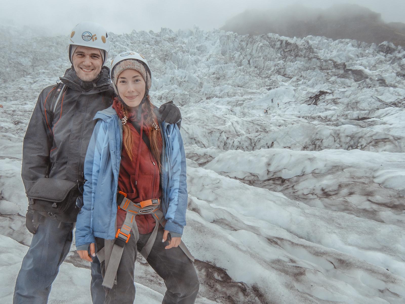 We're on glacier